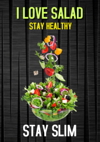 Eat Salad, Stay healthy & Slim