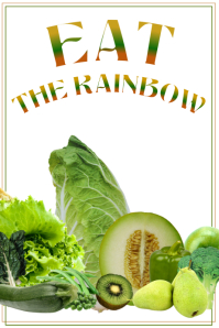 EAT THE RAINBOW GREEN