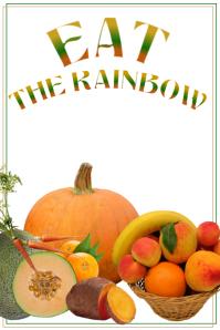 EAT THE RAINBOW Orange