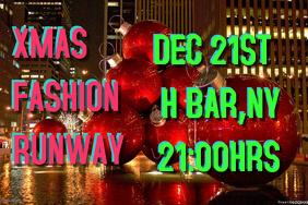 christmas fashion runway