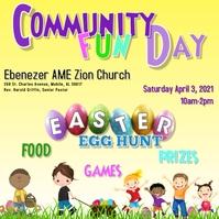 Ebenezer Community Day Message Instagram template