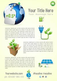 Eco Campaign Leaflet