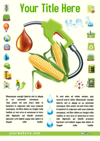 Eco Leaflet Template