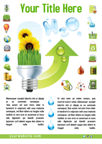 Eco Poster Template