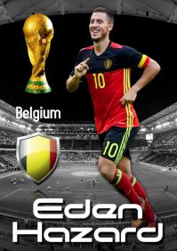 Eden Hazard Poster