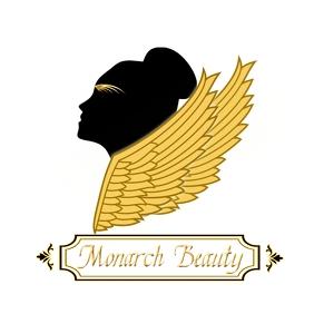 Editable Beauty Wings Logo