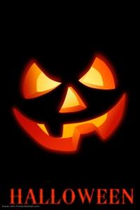 Editable Halloween Poster Template