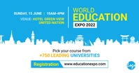 Education Expo Facebook Ad template
