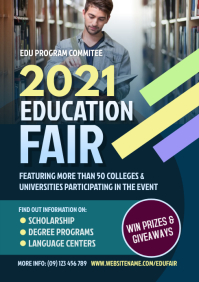Education Fair Flyer A4 template