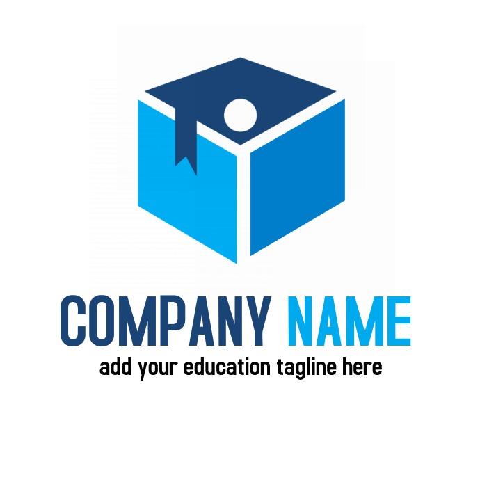 education graduate logo