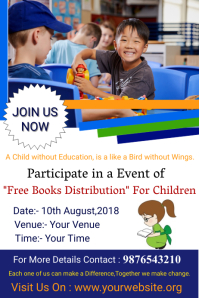 Educational Event Poster