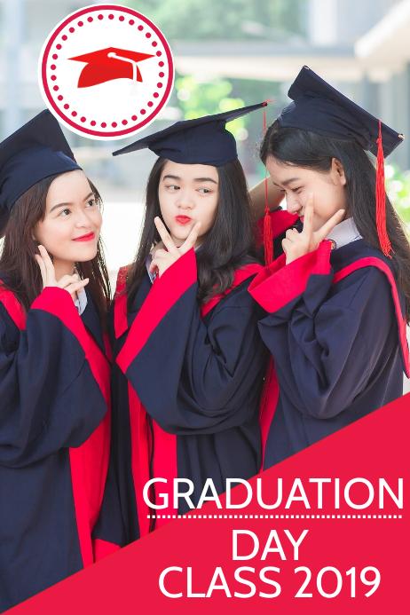 educational flyer,graduation day flyer Plakat template
