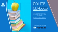 educational flyer,small business flyer Digital Display (16:9) template