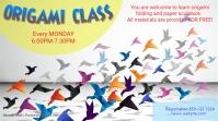 Educational-Origami class Affichage numérique (16:9) template