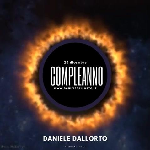 COMPLEANNO DANIELE DALLORTO