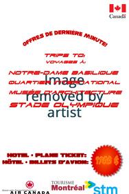 Example de poster de tourisme