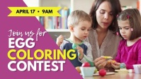 Egg coloring contest