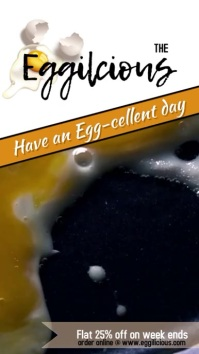 egg food court video template