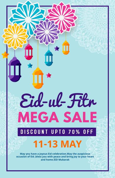 Eid, event,eid-ul-fitr Tabloid template