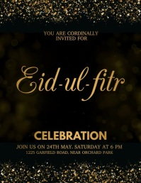 Eid, ramadan Flyer (US Letter) template