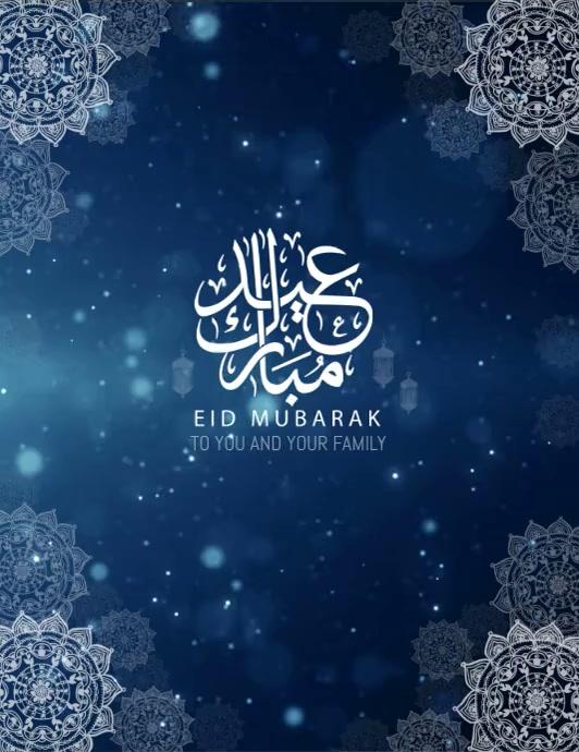 Eid, Ramadan Instagram post,Chand Raat Pamflet (Letter AS) template