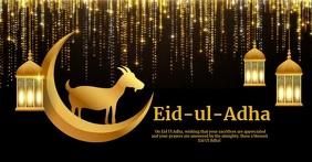 Eid,event,eid-ul-adha,bakra eid Facebook Shared Image template