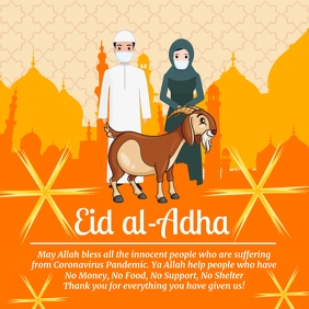 Eid Al Adha Celebration Template