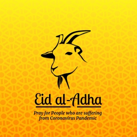 Eid Al Adha Celebration Template Square (1:1)