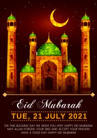Eid al adha A4 template