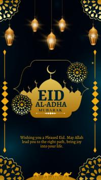 EID AL ADHA MUBARAK Instagram Story template