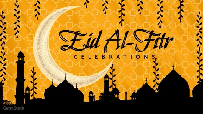 Eid Al-Fitr Celebrations Video Template | PosterMyWall