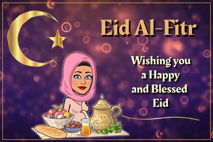 Eid Al-Fitr Poster template