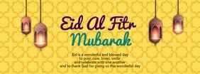 Eid Al Fitr Mubarak Template