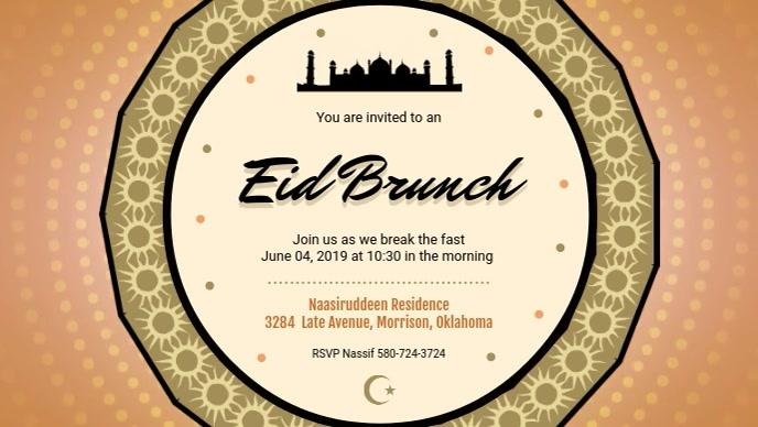 Eid Brunch at Community Center Banner