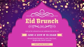 Eid Brunch at Community Center Facebook Video