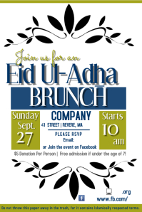Eid Brunch Flyer