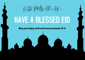 Eid Card Template