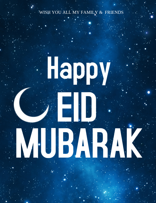 eid cards template  postermywall