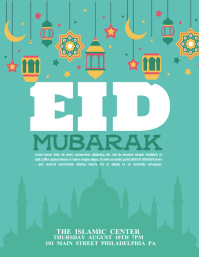 EID Flyer (US Letter) template