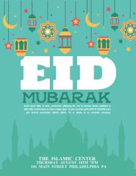 1 140 Templat Desain Eid Mubarak Yang Bisa Dikustomisasi Postermywall