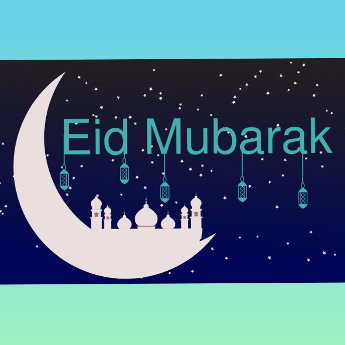Eid Album Omslag template