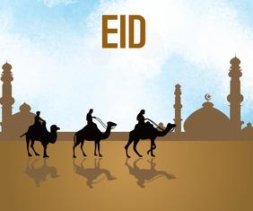 Eid Средний прямоугольник template