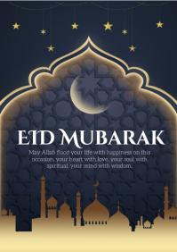 eid A4 template