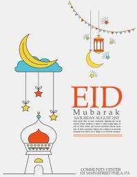 EID Flyer (US Letter) template
