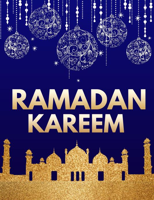Eid Flyer, Ramadan Mubarak, Ramadan Kareem, Happy Ramadan