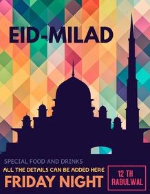 Eid flyer ,Rabi-ul awal flyers
