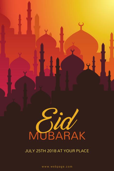 Eid Flyer template