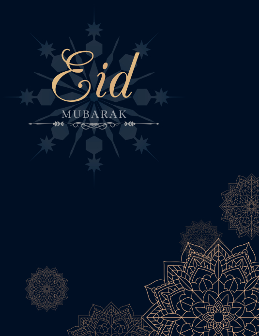 Eid flyers, ramadan flyers Pamflet (VSA Brief) template