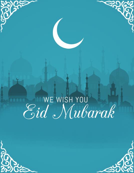 Eid flyers, Ramadan flyers Pamflet (VSA Brief) template