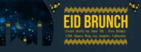Eid Invitation Banner Custom Template Portada de Facebook